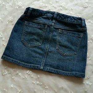 GAP Dresses - Girls Gap Denim Mini Skirt